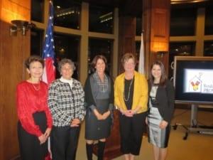 Women's Leadership Award Recipients 2014