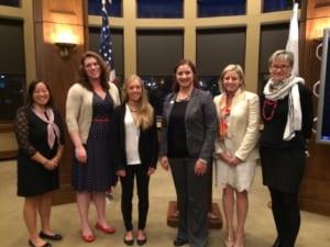 Women's Leadership Award Recipients 2015