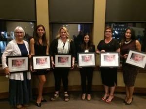 Women's Leadership Award Recipients 2017