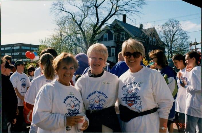 volunteers Judy Pat Jan
