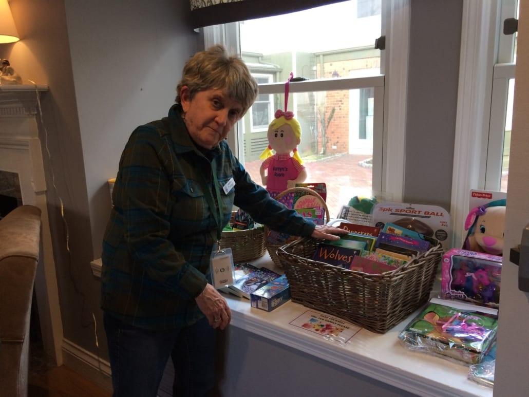 volunteer Kathy