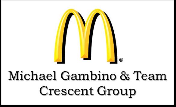McDonald's Michael Gambino & Team Crescent Group