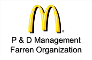 McDonald's P & D Management Farren Organization