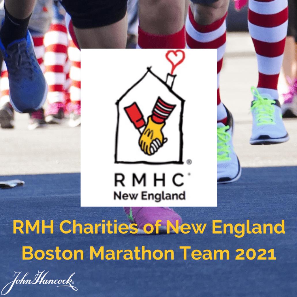 RMHCNE Boston Marathon Team