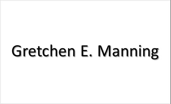 Gretchen E. Manning